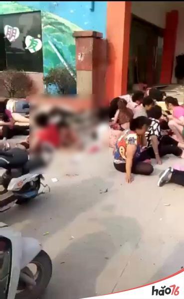 江苏徐州幼儿园爆炸现场图片在线一览